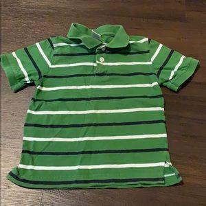3 for $15 Gymboree polo collar shirt stripe 4t 4
